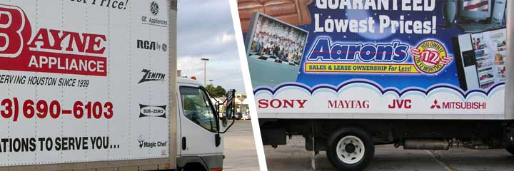 Vehicle decals and fleet graphics